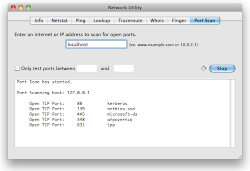 NEtwork_Utility_Port_Scan