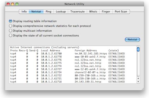 Network_Utility_Netstat
